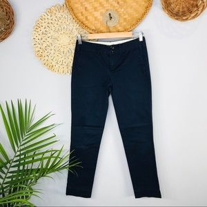 Paper Boy   Low Rise Navy Skinny Chino Pant SZ 0